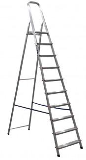 Лестница-стремянка 8 ступеней АМ708 алюминиевая