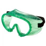 Очки защитные прозрачные закрытого типа, прямая вентиляция, линза поликарбонатная (РФ)